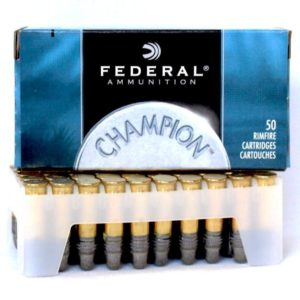 Federal 22 LR 40 Gr Champion Solid LRN HV (50)