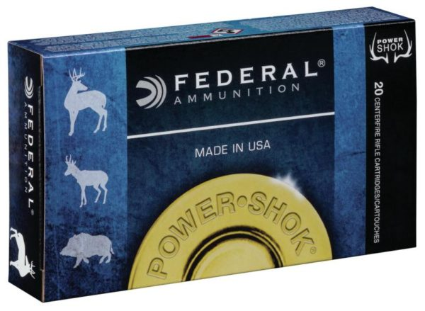 Federal 6.5 Creedmoor 140 Gr Power-Shok SP (20)