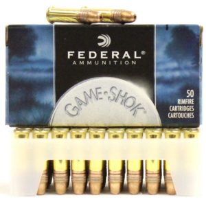 Federal 22 LR 38 Gr Game Shok Copper Coated HP (50)