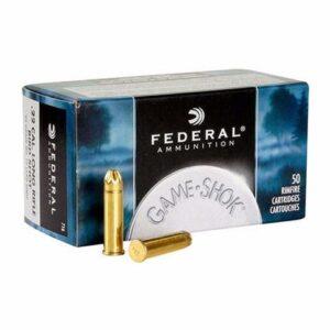 Federal 22 LR 25 Gr Shot Shell Game-Shok Shot #12 (50)