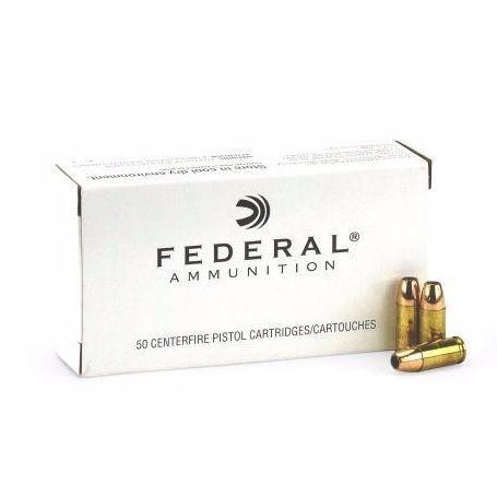 Federal 9mm Luger 147 Gr JHP Subsonic (50)