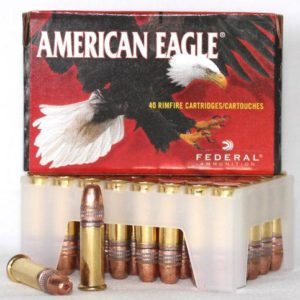 Federal 22 LR 38 Gr American Eagle CC HV HP (40)