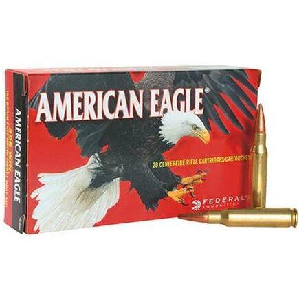 Federal 223 Rem 75 Gr American Eagle TMJ (20)