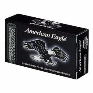 Federal 22 LR 45 Gr American Eagle Suppressor Subsonic Copper Plated RN (50)