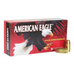 Federal 357 Sig 125 Gr American Eagle FMJ (50)