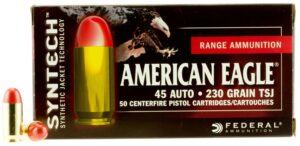 Federal 45 Auto 230 Gr TSJ American Eagle SYNTECH (50)