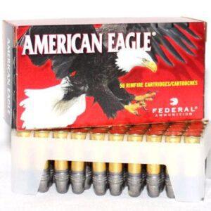 Federal 22 LR 40 Gr American Eagle LRN (50)