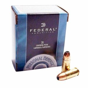 Federal 40 S&W 180 Gr Personal Defense JHP (20)