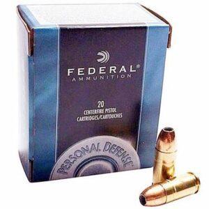 Federal 9mm 115 Gr JHP Personal Defense (20)