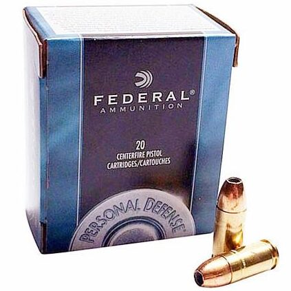 Federal 9mm 115 Gr JHP Personal Defense (20)