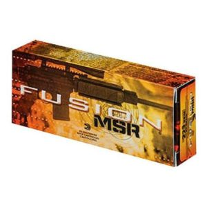 Federal 223/5.56 62 Gr Fusion MSR Medium Game (20)
