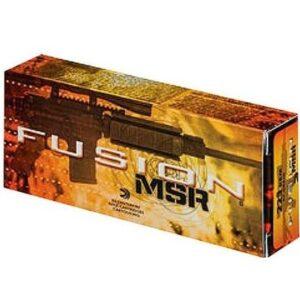 Federal 223/5.56 62 Gr Fusion MSR Medium Game (20)