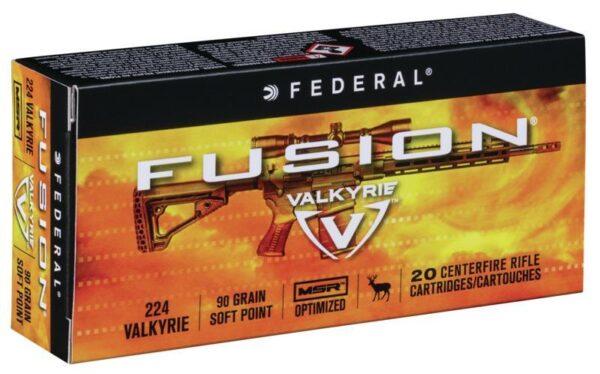 Federal 224 Valkyrie 90 Gr Fusion MSR Medium Game (20)