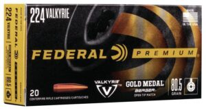 Federal 224 Valkyrie 80.5 Gr Gold Medal Berger (20)