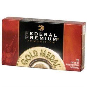 Federal 30-06 Springfield 168 Gr Premium Sierra MatchKing BTHP (20)