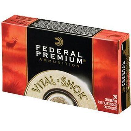 Federal 243 Win 100 Gr Vital-Shok Nosler Partition (20)