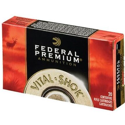 Federal 270 Win 130 Gr Nosler Partition Vital-Shok (20)