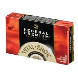Federal 300 Win Mag 165 Gr Vital-Shok Trophy Bonded Tip (20)