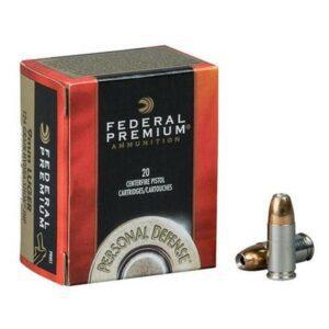 Federal 40 S&W 180 Gr Premium Hydra-Shok JHP (20)