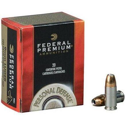 Federal 40 S&W 155 Gr Premium Hydra-Shok JHP (20)