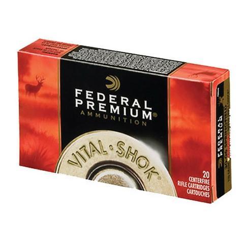 Federal 7mm Rem Mag 165 Gr Vital-Shok Sierra GameKing BTSP (20)