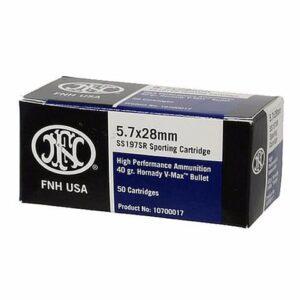 FNH USA 5.7x28 V-Max 40 Gr (50)