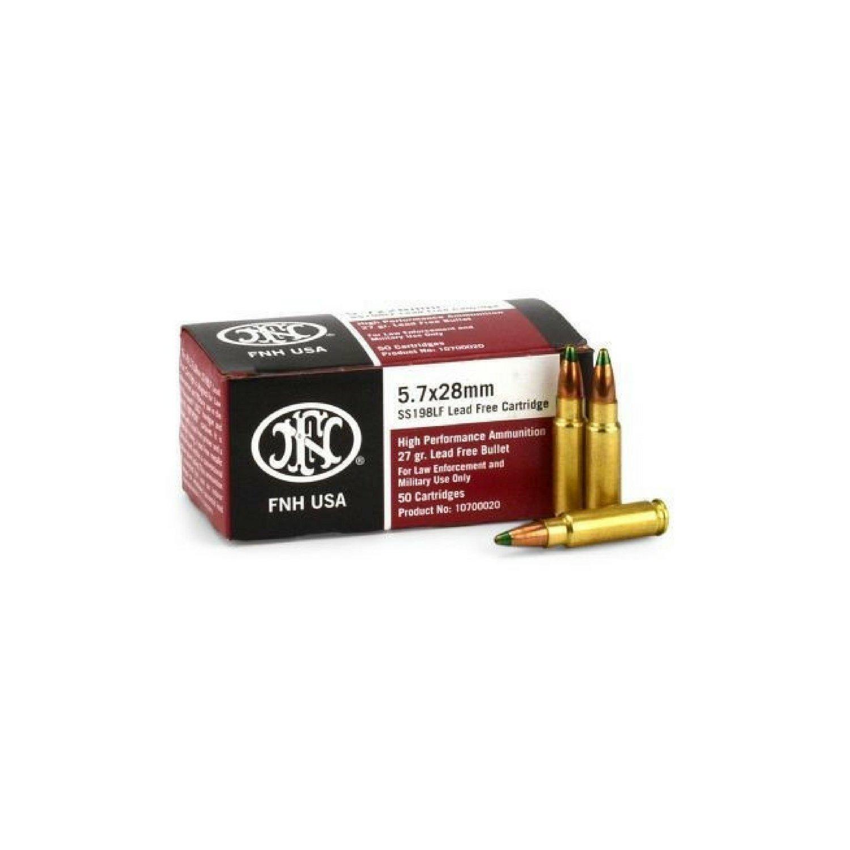 FN USA 5.7X28 MM 27 Gr HP LE (50)