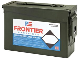 Frontier 5.56 Nato 55 Gr Hornady Full Metal Jacket (M193) (500) Ammo Can