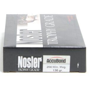 Ammo Fast - NOS60019 - Nosler 264 Win 130 Grain Accubond (20)