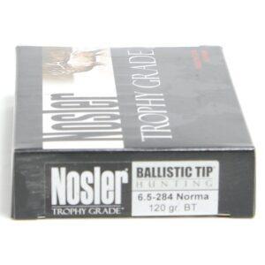 Nosler 6.5-284 Norma 120 Grain Boat Tail (20)