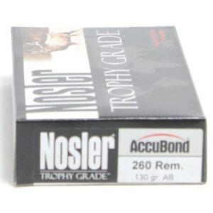 Nosler 260 Rem 130 Grain AccuBond (20)