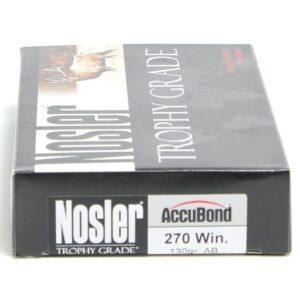 Nosler 270 Win 130 Grain Accubond (20)
