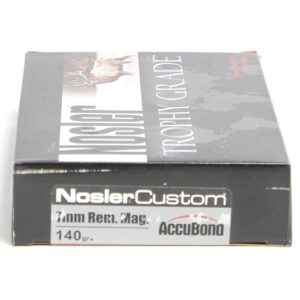 Nosler 7mm Rem Magnum 140 Grain AccuBond (20)
