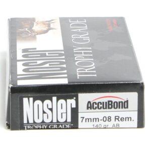 Nosler 7mm-08 Rem 140 Grain AccuBond (20)