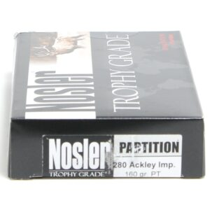 Nosler 280 Rem Ack Imp 160 Grain Partition (20)