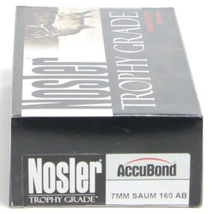 Nosler 7mm Saum 160 Grain AccuBond (20)
