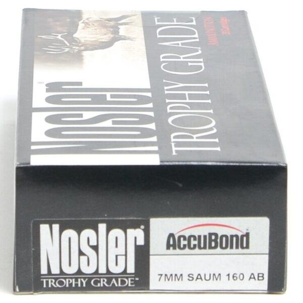 Nosler 7mm Saum 160 Grain AccuBond (20)