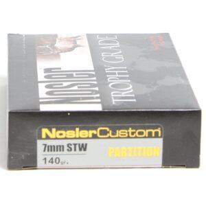 Nosler 7mm STW 140 Grain Partition (20)