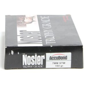 Nosler 7mm STW 160 Grain Accubond (20)