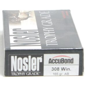 Nosler 308 Win 165 Grain Accubond (20)