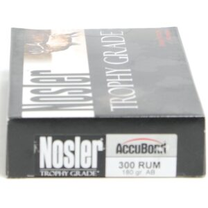 Nosler 300 Rum 180 Grain Accubond (20)