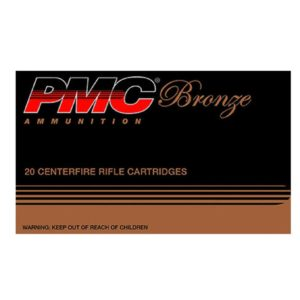 PMC 308 Win 147 Gr Bronze Brass Case FMJ (20)