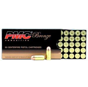 PMC 380 ACP Auto 90 Gr Bronze FMJ (50)