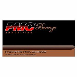 PMC 38 Super +P 130 Gr Bronze FMJ (50)