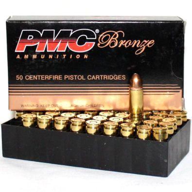PMC 40 S&W 165 Gr Bronze FMJ (50)
