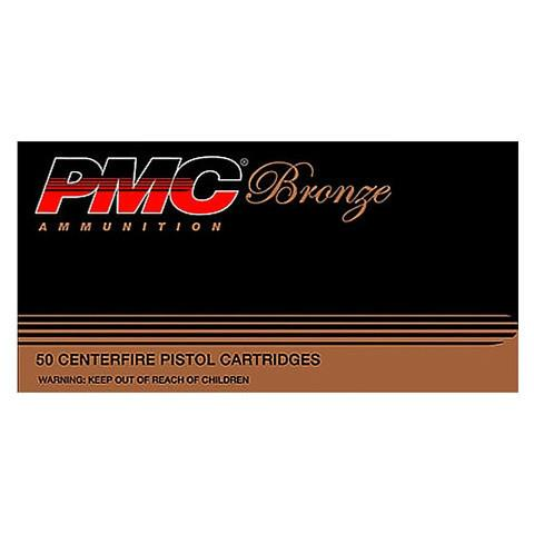 PMC 45 ACP 185 Gr JHP Bronze Target (50)