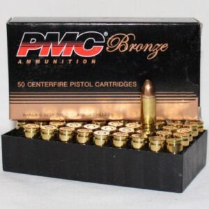 PMC 9MM 115 Gr FMJ (50)