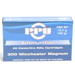 Prvi 300 Win Magnum 165 Grain Pointed Soft Point Boat Tail (20)