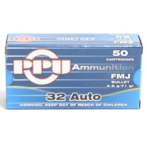 Prvi 32 Acp 71 Grain Full Metal Jacket (50)