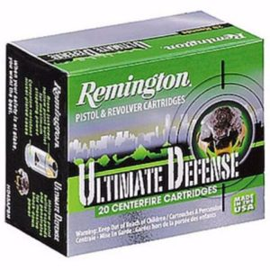 Remington 9MM 124 Gr Ultimate Defense Compact BJHP (20)